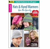 Leisure Arts Hats & Hand Warmers For The Family