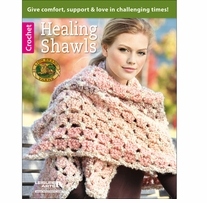 Leisure Arts Healing Shawls