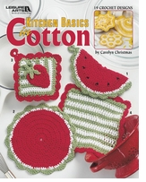 Leisure Arts Kitchen Basics In Cotton