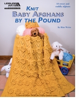 Leisure Arts Knit Baby Afghans By The Pound