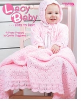 Leisure Arts Lacy Baby Sets To Knit