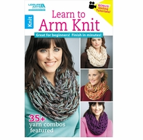 Leisure Arts Learn To Arm Knit
