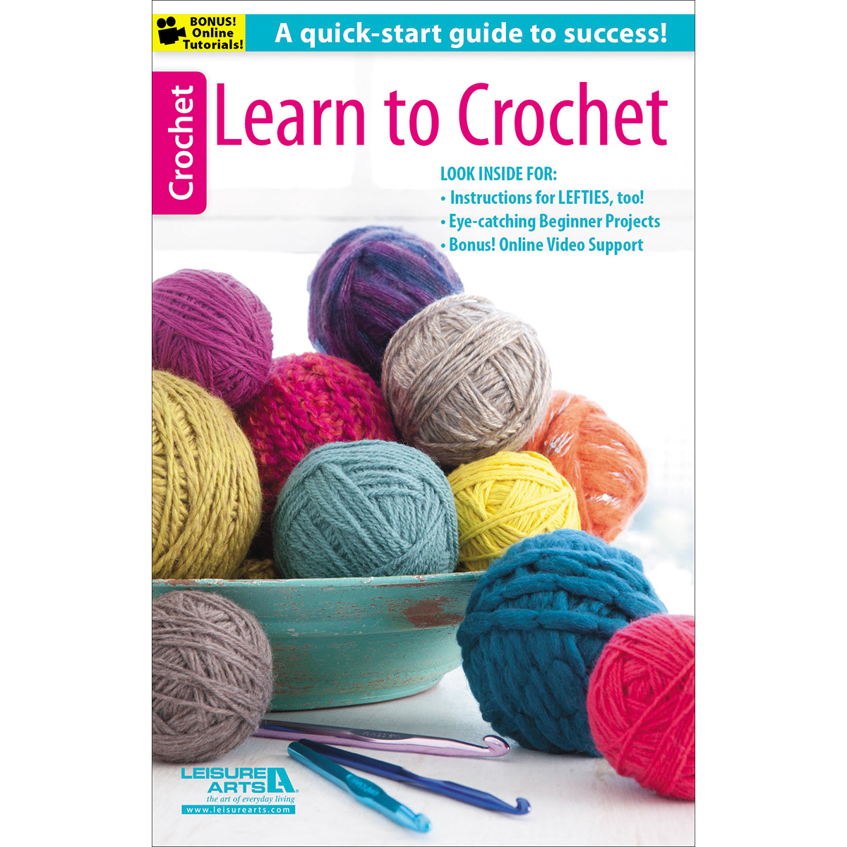 Crochet Learning : ... Crochet Patterns ? Crochet Books How to Crochet ? Leisure Arts Learn