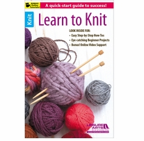Leisure Arts Learn To Knit