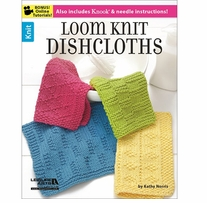 Leisure Arts Loom Knit Dishcloths