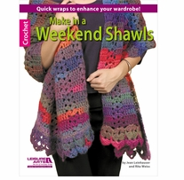 Leisure Arts Make In A Weekend Shawls