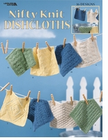 Leisure Arts Nifty Knit Dishcloths