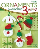 Leisure Arts Ornaments To Crochet 3 Ways