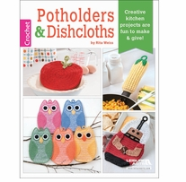 Leisure Arts Potholders and Dishcloths