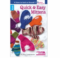 Leisure Arts Quick And Easy Mittens