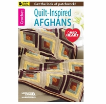 Leisure Arts Quilt-Inspired Throws