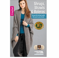 Leisure Arts Shrugs, Shawls And Boleros