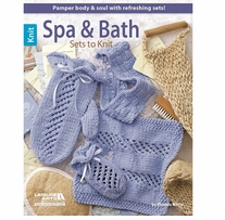 Leisure Arts Spa & Bath Sets To Knit