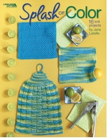 Leisure Arts Splash Of Color Dishcloth Sets To Knit
