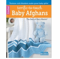Leisure Arts Terrific-To-Touch Baby Afghans