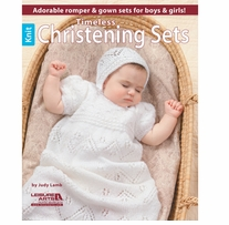 Leisure Arts Timeless Knit Christening Sets