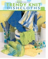 Leisure Arts Trendy Knit Dishcloths