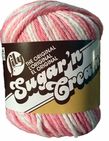 Lily Sugar'n Cream  Cotton Ombre Yarn
