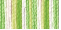 Lily Sugar'n Cream Cotton Ombre Yarn Key Lime Pie