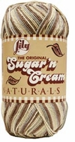 Lily� Sugar'n Cream� Yarn Big Ball Naturals Yarn Ombres