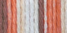Lily Sugar'n Cream Cotton Stripes Yarn Natural - Click to enlarge