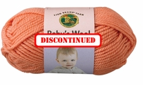 Lion Brand Baby Wool Yarn - DISCONTINUED