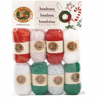 Lion Brand Bonbons Yarn  Jingle Bells Metallic