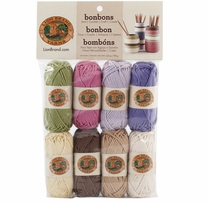 Lion Brand Bonbons Yarn Nature Cotton
