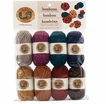 Lion Brand Bonbons Yarn Party Metallic
