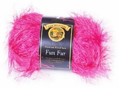 Lion Brand Fun Fur Yarn - Click to enlarge