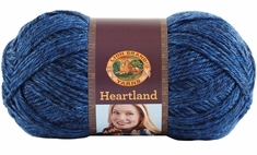 Lion Brand Heartland Yarn - Click to enlarge