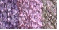 Lion Brand Homespun Thick & Quick Yarn Lavender Stripes