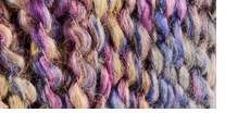 Lion Brand� Homespun� Yarn Tanzanite Stripes