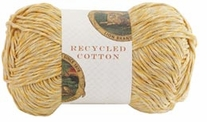 Lion Brand Recycled Cotton Yarn