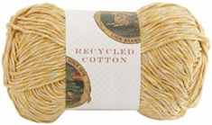 Lion Brand Recycled Cotton Yarn - Click to enlarge