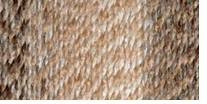 Lion Brand Tweed Stripes Yarn Caramel