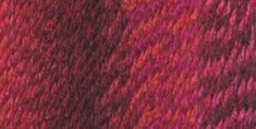 Lion Brand Tweed Stripes Yarn Mixed Berries - Click to enlarge