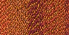 Lion Brand Tweed Stripes Yarn Wildfire - Click to enlarge