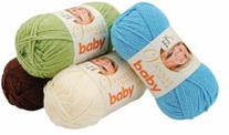 Lion Brand Vanna's Choice Baby Yarn