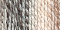 Lion Brand Wool-Ease Thick & Quick Yarn Sandstone Stripes