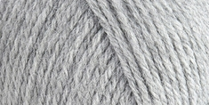 Lion Brand� Wool-Ease� Yarn Grey Heather - Click to enlarge