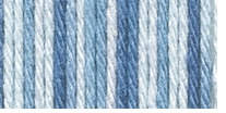 Lion Brand Cotton Yarn Denim Swirl