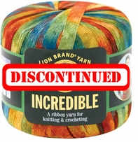 Lion Brand Incredible Yarn - DISCONTINUED