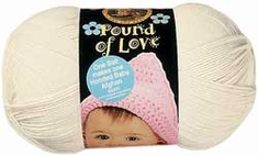 Lion Pound of Love Baby Yarn - Click to enlarge