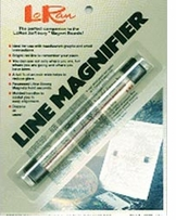 LoRan Magnetic Line Magnifier 7/8inX6 1/2in