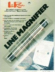 LoRan Magnetic Line Magnifier 7/8inX6 1/2in - Click to enlarge
