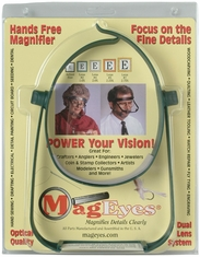 Mageyes Magnifier With Lens #2 & #4 - Click to enlarge
