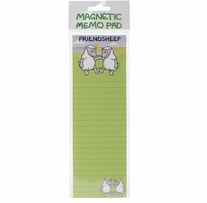 Magnetic Memo Pad Friendsheep