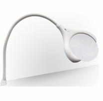 MAGnificent On Clamp Lamp White