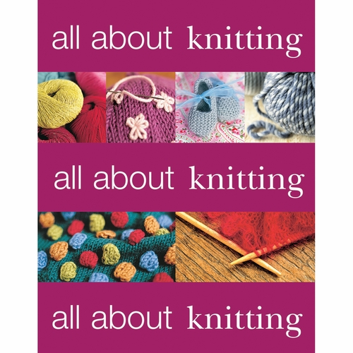 Knitting Warehouse Free Shipping : Martingale & Company All About Knitting Softcover